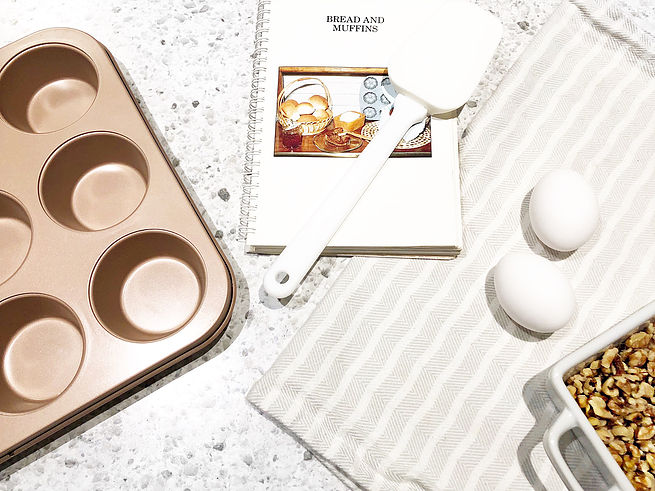 Bake With Me | Cinnamon + WalnutMuffins
